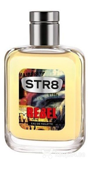 Tualettvesi STR8 Rebel EDT meestele 50 ml