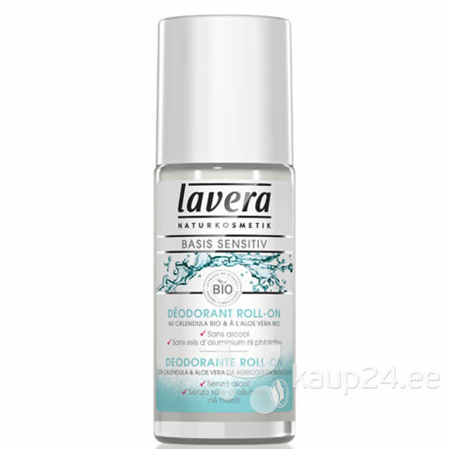 Rulldeodorant Lavera Basis Sensitive 50 ml цена и информация | Deodorandid | kaup24.ee