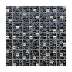 Klaasmosaiik seinale CEMENT 30x30 cm цена и информация | Плитка для стен | kaup24.ee
