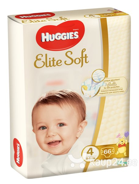 Mähkmed HUGGIES Elite Soft 4, 66 tk