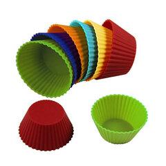 Силиконовые формы для кексов Maestro 12 шт.