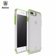 Kaitseümbris Baseus Guards Case Impact Silicone Case for Apple iPhone 7 Transparent - Green