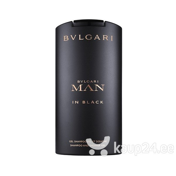 Dušigeel Bvlgari Man In Black meestele 200 ml