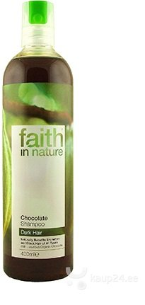 Šampoon Faith in Nature Chocolate цена и информация | Šampoonid | kaup24.ee
