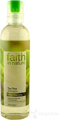 Šampoon Faith in Nature Tea Tree hind ja info | Šampoonid | kaup24.ee