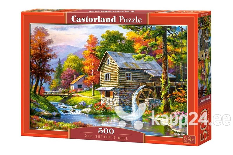 Pusle Puzzle Castorland Old Sutter's Mill, 500 osa