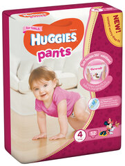 Püks-mähkmed HUGGIES Pants Girls Mega, suurus 4, 52tk