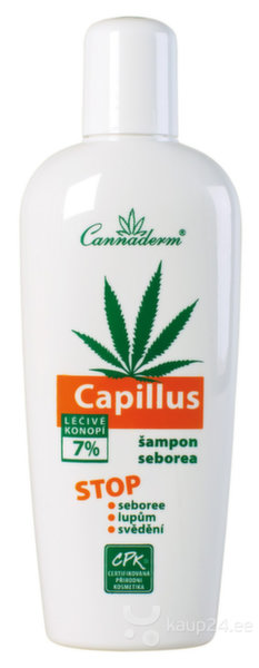 Šampoon Cannaderm Capillus 150 ml
