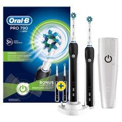 Elektriline hambahari Oral-B Pro 790 black hind ja info | Elektrilised hambaharjad | kaup24.ee