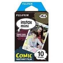 Fotopaber Fujifilm Instax Mini Comic Instant Film Quantity 10, 86 x 54 mm