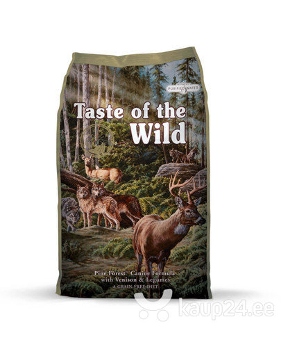 "Kuivtoit koertele Taste Of The Wild ""Pine Forest "", 13 kg"