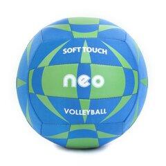 Võrkpall Spokey Neo Soft, sinine/roheline