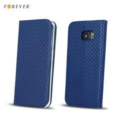 Forever Carbon Smart Magnetic Fix чехол-книжка для Samsung J530F Galaxy J5 (2017), тёмно-синий
