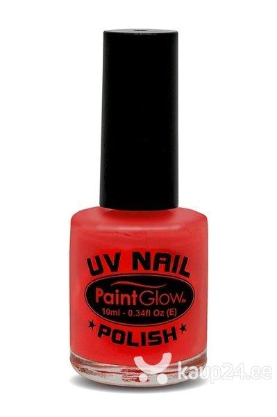 Särav UV küünelakk, punane