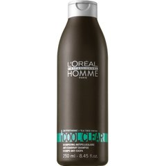 Kõõmavastane šampoon meestele L'Oreal Professionnel Paris Homme Haircare Cool Clear 250 ml