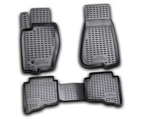 Kummimatid 3D JEEP Grand Cherokee 2006-2011, 4 pcs. /L35008