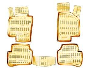 Kummimatid 3D VW Passat B6 2005-2010, 4 pcs. /L65031B /beige   цена и информация | Kummimatid 3D VW Passat B6 2005-2010, 4 pcs. /L65031B /beige   | kaup24.ee
