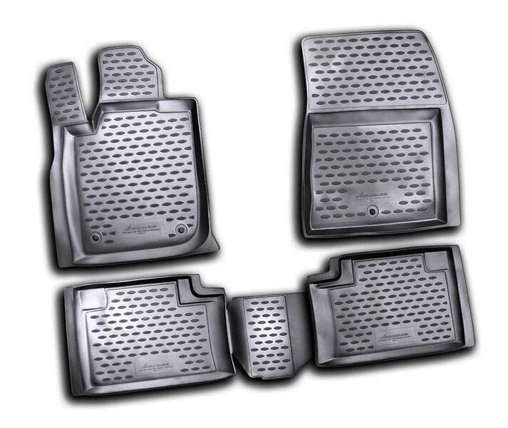 Kummimatid 3D JEEP Grand Cherokee 2011-2013, 4 pcs. /L35012G /gray