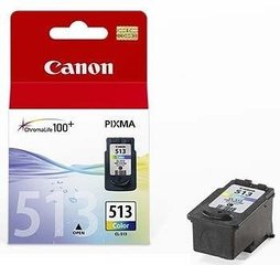 INK CARTRIDGE COLOR CL-513/2971B007 CANON