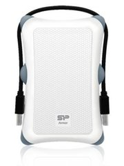 SILICON POWER 2TB, PORTABLE HARD DRIVE ARMOR A30, WHITE