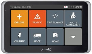GPS seade Mio MiVue Drive 65 2in1 FULL EUROPE LM (EEU) hind ja info | GPS seade Mio MiVue Drive 65 2in1 FULL EUROPE LM (EEU) | kaup24.ee