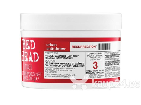 Taastav juuksemask Tigi Bed Head Urban Antidotes Resurrection 200 g