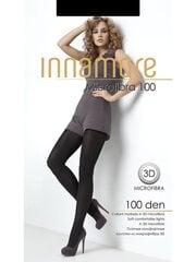 Naiste sukkpüksid Innamore Microfibra 100 DEN, must