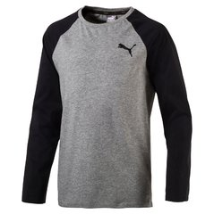 Puma футболка Style Baseball Tee, Medium Gray Heather