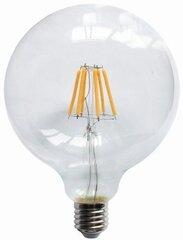 LED hõõglamp ORRO, mull G125, 8W, E27, 220V, 2700K, 930 Lm, 55004 hind ja info | Lambipirnid, lambid | kaup24.ee