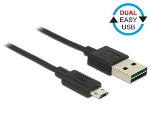 Kaabel Delock Micro USB AM-BM DUAL EASY-USB, 2m