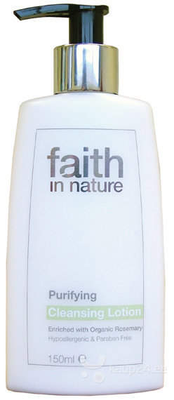 Näopuhastusvahend Faith in Nature 150 ml цена и информация | Näopuhastusvahendid | kaup24.ee