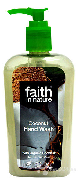 Vedelseep Faith in Nature Coconut 300 ml hind ja info | Dušigeelid, seebid | kaup24.ee