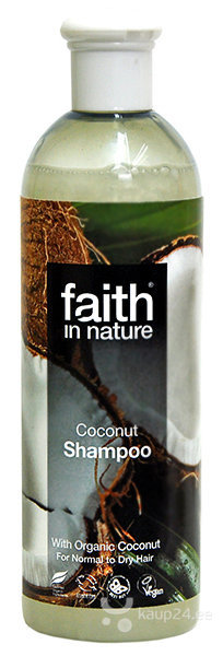 Šampoon Faith in Nature Coconut цена и информация | Šampoonid | kaup24.ee