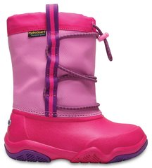 Tüdrukute saapad Crocs™ Swiftwater Waterproof Boot, Party Pink / Candy Pink