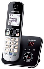 Lauatelefon PANASONIC KX-TG6821JTB, hõbedane цена и информация | Стационарные телефоны | kaup24.ee