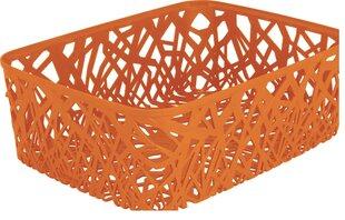 Kast Curver NEO, oranž hind ja info | Hoiukastid ja pesukorvid | kaup24.ee
