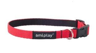 Reguleeritav kaelarihm Amiplay Twist, M, punane