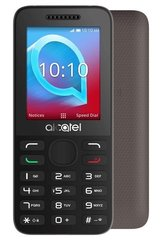 Mobiiltelefon Alcatel 2038X, Hall