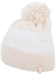 Naiste müts 4F CAD012, helepruun/valge
