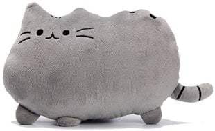 Plüüsist padi Emoji Pusheen kass, hall
